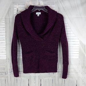 Loft Ann Taylor Alpaca/Wool Sweater